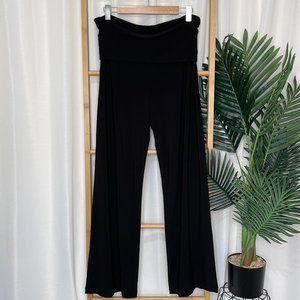 Motto Black Fold Over Waist Pants 14